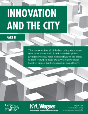 Innovation and the City, Part II