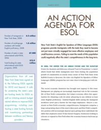 An Action Agenda for ESOL
