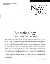 Biotechnology: The Industry That Got Away