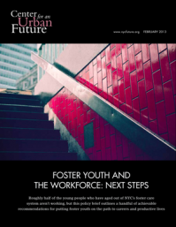 Foster Youth and the Workforce: Next Steps