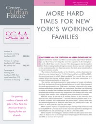 More Hard Times for New York's Working Families