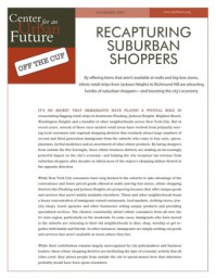 Recapturing Suburban Shoppers