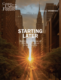 Starting Later: Realizing the Promise of Older Entrepreneurs in New York City