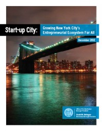 CUF Study Influenced New Report by Manhattan Borough President on NYC's Tech Sector