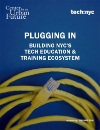 Plugging In: Building NYC's Tech Education & Training Ecosystem