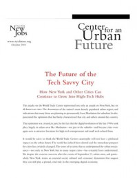 The Future of the Tech Savvy City