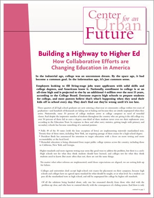 Building a Highway to Higher Ed