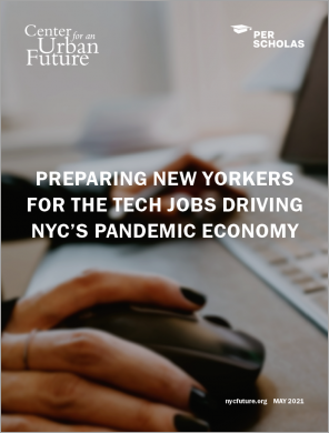 Preparing New Yorkers for the Tech Jobs Driving NYC's Pandemic Economy