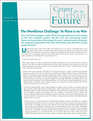 The Workforce Challenge: To Place is to Win